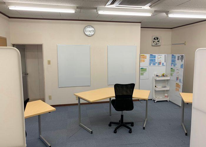 つくばの事務所模様替え、完了しました!